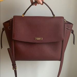 Kate Spade burgundy medium size bag